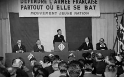 Image d'archives de François Duprat (Crédit: capture d'écran Youtube/Antoine Finidori)