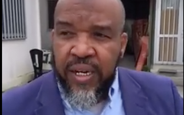 Mohammed Tlaghi, imam de la mosquée de Torcy. (Capture d'écran YouTube)