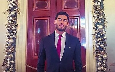 Une photo non-datée d'Ammar Campa-Najjar, candidat démocrate au congrès du 50ème district de Californie (Capture d'écran : Facebook)