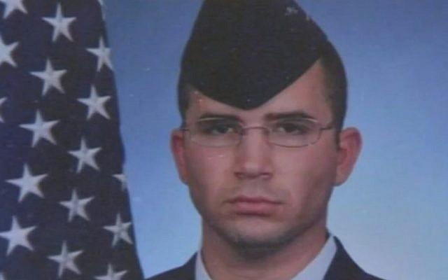 Sergent Peter Taub, qui a été tué dans un attentat suicide en décembre 2015 en Afghanistan (capture d'écran: ABC News)