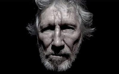 Roger Waters, ex-musicien de Pink Floyd, apparaît sur 'Supremacy', une lecture d'un poème de Mahmoud Darwish avec la musique d'un trio oud palestinien en arrière-plan, pour protester contre la reconnaissance par le président Donald Trump de Jérusalem comme capitale d'Israël (Crédit : Capture d'écran Facebook)