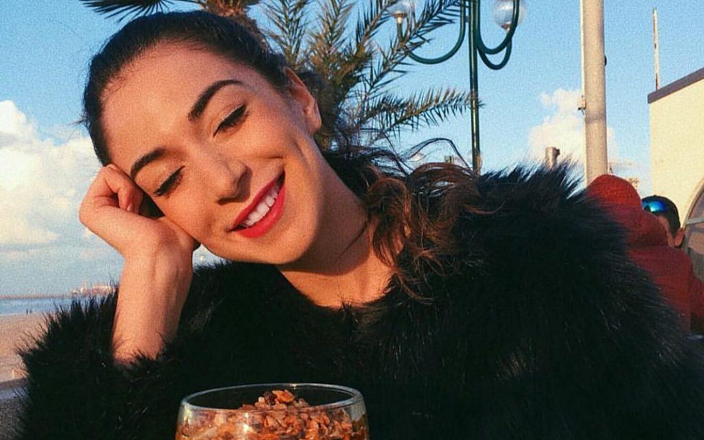 Tamar Morali, finaliste du concours de Miss Allemagne, profite de la vie en Israël. (Autorisation)