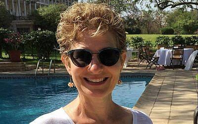 Jeannie Harrison, épouse de l'ambassadeur israélien au Sénégal. (Crédit : Facebook)