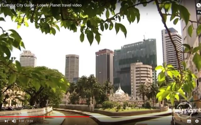 Une vue de Kuala Lumpur, en Malaisie (Capture d'écran : YouTube)