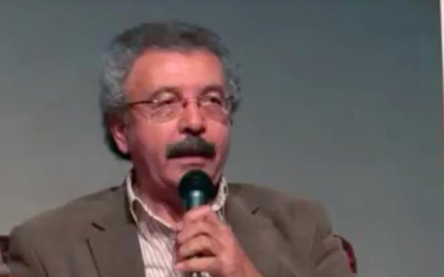 Ibrahim Nasrallah (Crédit : capture d'écran YouTube)