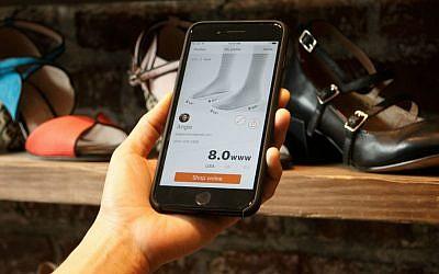 La technologie Invertex utilise l'imagerie 3D et l'intelligence artificielle pour adapter au mieux les chaussures aux pieds (publié avec autorisation)