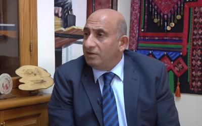 Le maire de Beit Jala, Nicola Khamis. (Capture d'écran : YouTube)