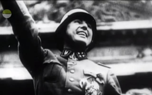 Leon Degrelle (Capture d'écran :  YouTube)