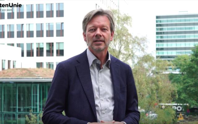 Le député hollandais du parti Union chrétienne, Joël Voordewind, parle dans une vidéo de campagne mise en ligne le 17 octobre 2016. (capture d'écran: YouTube)