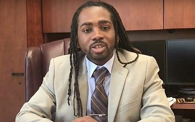 Trayon White Sr, conseiller municipal de Columbia - Washington (Capture d'écran : YouTube)