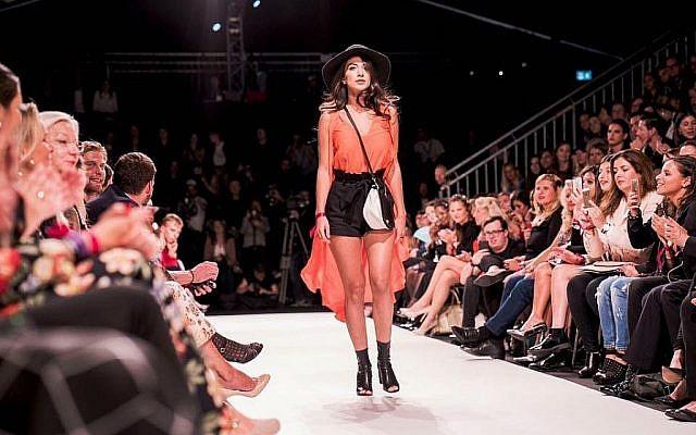 Tamar Morali au Vienna Fashion Show au Look Style Awards. (Stefan Joham/ Look Style Magazine)