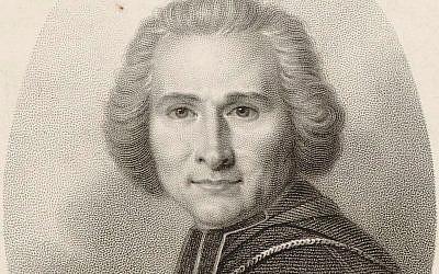 L'Abbé Grégoire (1750-1838), promoteur de l'émancipation des Juifs dans le sillage de la Révolution française (Crédit: domaine public)