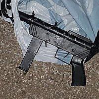 Une mitraillette de type Carlo. (Armée israélienne)