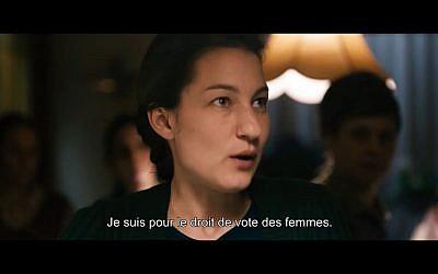 """Image tirée du film """"Les Conquérantes"""" sorti en 2017 (Crédit: capture d'écran Youtube)"""