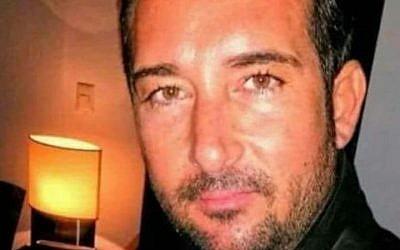 Jérémy Dahan, retrouvé assassiné, rue de Bagnolet dans le 20ème arrondissement de Paris (Crédit : Facebook via JTA)