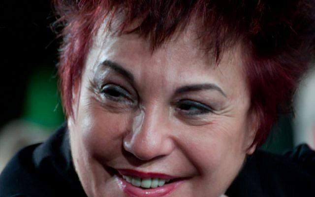Esther Benbassa, à Grenoble en 2012 (Crédit: Matthieu Riegler/Wikimedia Commons)