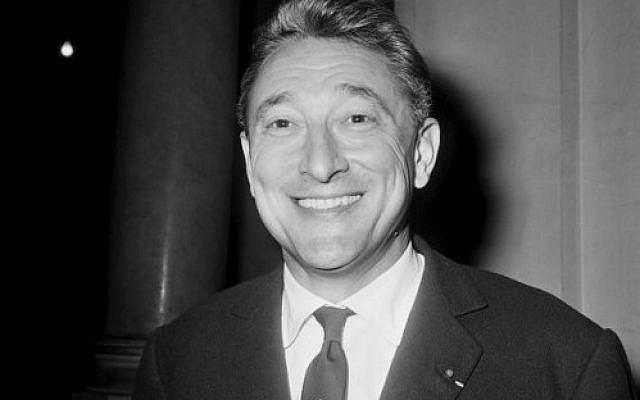 Le député français et journaliste Jean-Claude Servan-Schreiber (PHOTO AFP / Archives)