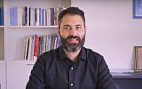 Mickey Gitzin, nouveau directeur du New Israel Fund. (Crédit : Capture d'écran YouTube)