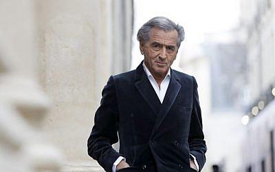Bernard-Henry Lévy (Crédit : autorisation)