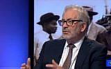 Ancien fonctionnaire britannique, Lord Robert Kerslake, lors d'une interview à la BBC, le 18 avril 2018. (Crédit : capture d'écran YouTube)