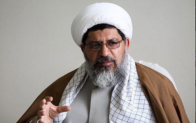 Ali Shirazi, agent de liaison du guide suprême iranien, l'ayatollah Ali Khamenei, pour la force d'élite al-Quds (capture d'écran)
