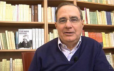Henri Ticq, journaliste et écrivain (Crédit: capture d'écran Youtube/Librairie Mollat)
