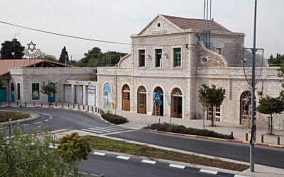 L'Ancienne Gare de Jérusalem et les voies ferrées rénovées (Avec l'aimable autorisation de The First Station)