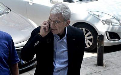Yiannis Boutaris, maire de Thessalonique, le 23 mai 2018. (Crédit : AFP / Sakis MITROLIDIS)