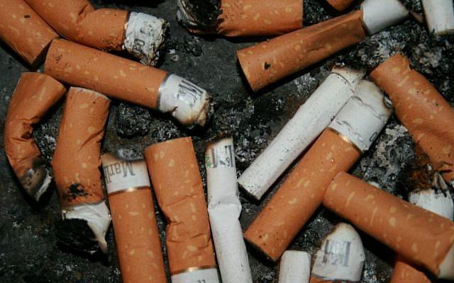 Photo illustrative de mégots de cigarettes. (Flickr/włodi/CC BY-SA 2.0)