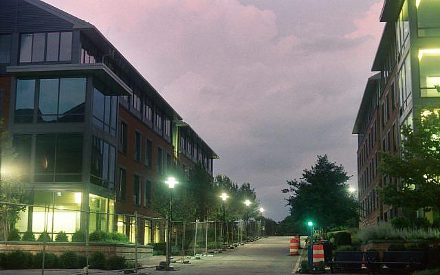Le campus de l'université de Towson. (CC BY Mitch LeClair, Flickr)