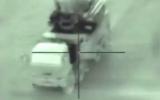 Un missile israélien s'abat en direct sur une batterie antiaérienne syrienne (Capture d'écran)
