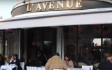 Le restaurant l'Avenue à Paris, dans le 8ème arrondissement, accusé de discrimination (Capture d'écran : YouTube)