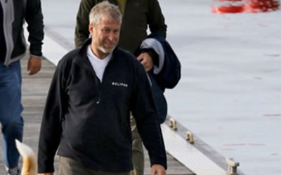 Le milliardaire Roman Abramovich (Capture d'écran : YouTube)