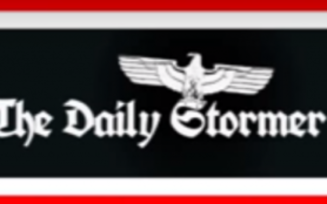 Le Daily Stormer (Screen capture: YouTube)
