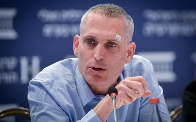 Le procureur général adjoint Avi Licht assiste à la conférence Eli Horowitz pour l'économie et la société, organisée par l'Institut israélien de la démocratie à Jérusalem le 19 juin 2017. (Yossi Zeliger/Flash90)