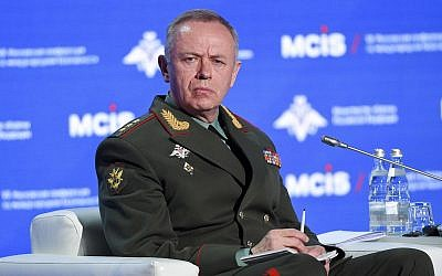 Alexander Fomin, vice-ministre russe de la Défense. (Site du Ministère de la Défense de la Fédération de Russie)