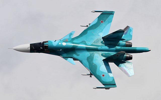 Le Soukhoï Su-34 est un bombardier tactique russe avec des capacités de lutte antinavire. (Wikipedia CC BY-SA 4.0)