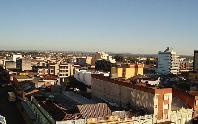 Vue de la ville de Pelotas, au Brésil (CC BY-SA Gustavo.kunst, Wikimedia Commons)
