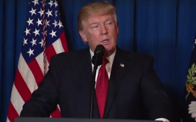 Donald Trump (Crédit : domaine public)
