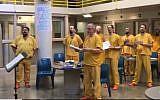 Illustration. Des détenus à la prison d'Anchorage en Alaska. (Crédit :capture d'écran Facebook)