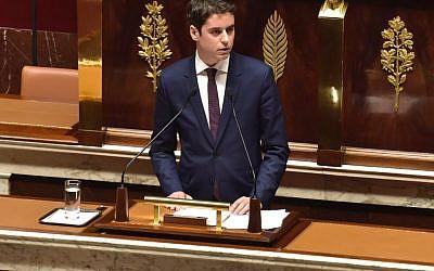 Gabriel Attal, ex-porte-parole de la République en Marche, et député des Hauts-de-Seine, aujourd'hui secrétaire d'Etat du gouvernement Philippe. (Capture d'écran Twitter)