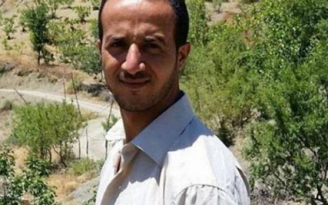 Merzoug Touati, un blogueur algérien condamné à 10 ans de prison ferme pour la publication d'une interview. (Capture d'écran Twitter / Reporters sans frontières)