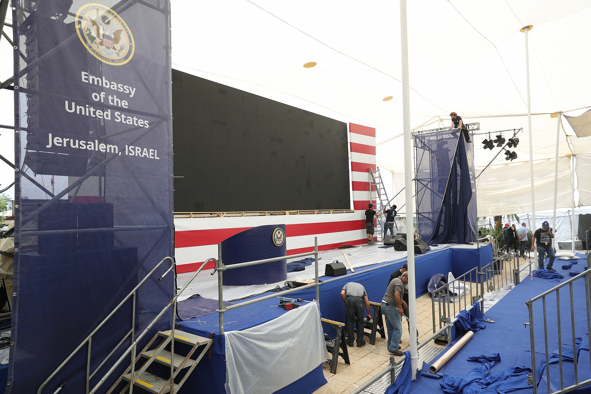 Jour J: le Guatemala déplace son ambassade à Jérusalem