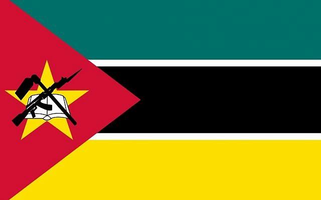 Drapeau du Mozambique. (Domaine public)