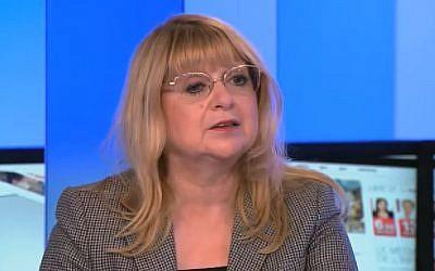 La journaliste Martine Ghozlan, rédactrice en chef à Marianne (Crédit: capture d'écran Kiosque/Youtube)
