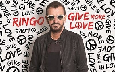 La couverture du nouvel album studio de Ringo Starr, 'Give More Love'. (Autorisation de Ringo Starr)