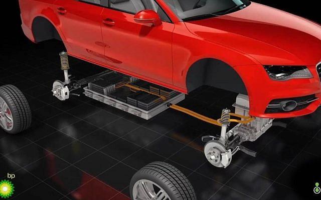 Une illustration des batteries à charge ultra-rapide développées par la startup israélienne StoreDot pour les véhicules électriques (Autorisation).