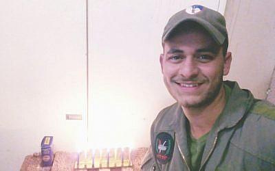 Le sergent Eliyahu Drori, tué dans un accident de tank : (Crédit : unité du porte-parole de l'armée israélienne)
