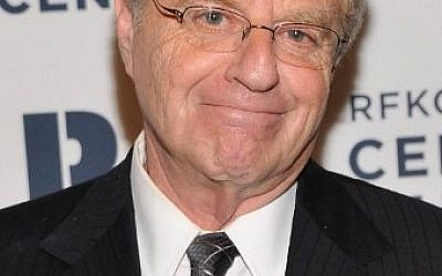 Jerry Springer à New York, le 3 décembre 2012. (Crédit : AFP / GETTY IMAGES NORTH AMERICA / Stephen Lovekin)