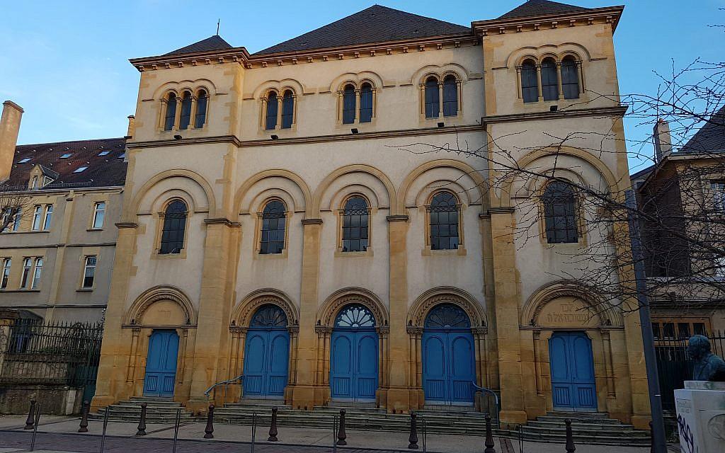 La synagogue de Metz. (Autorisation)